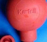 Груша резиновая с тремя клапанами и переходником для наполнения пипеток