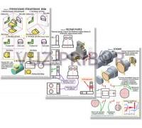 Комплект таблиц Оптика. Специальная теория относительности