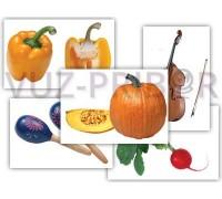 """""""Овощи. Музыкальные инструменты"""""""