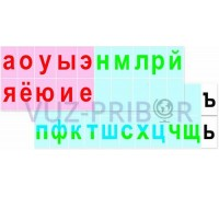 Интерактивная лента букв