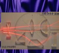 Геометрическая оптика с лазерным источником питания