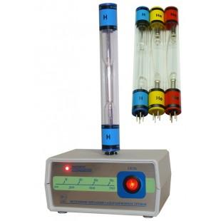 Набор спектральных трубок с источником питания