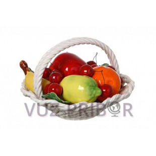"""Муляж """"Корзина с фруктами"""""""