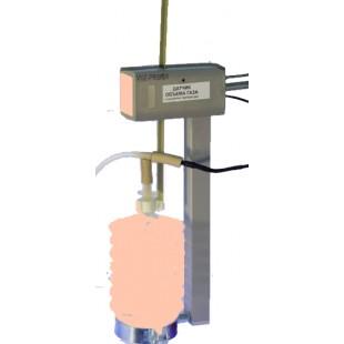 Датчик объема газа с контролем температуры
