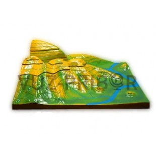 Вулканическая поверхность. Формирование гор