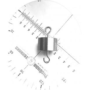 Груз с двумя крючками (100 грамм)