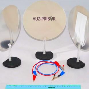 Конденсатор переменный с индикацией наличия заряда