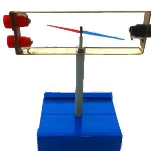 Прибор стрелка в магнитном поле