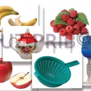 """Набор предметных картинок """"Фрукты, ягоды, орехи. Посуда"""""""
