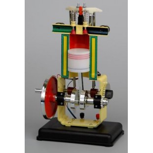 Дизельный двигатель - модель