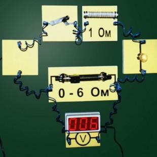Набор для исследования цепей постоянного тока