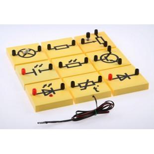 Набор для исследования тока в полупроводниках и их технического применения (Электричество-2)