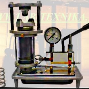 Модель гидравлического пресса