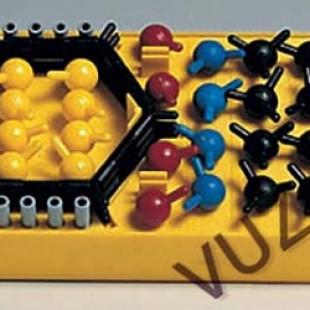 Набор моделей атомов для моделирования органических молекул